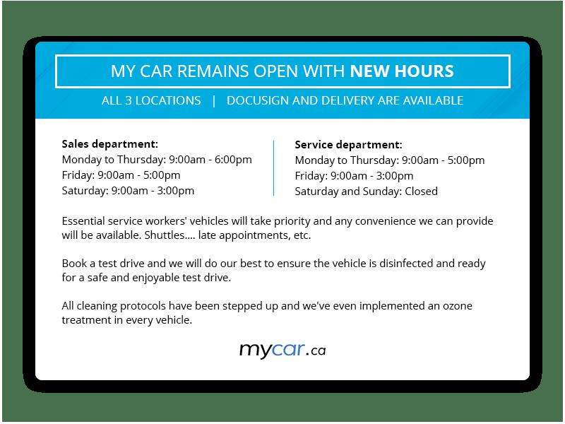 MyCar.ca-COVID-19NewHoursPop-Up